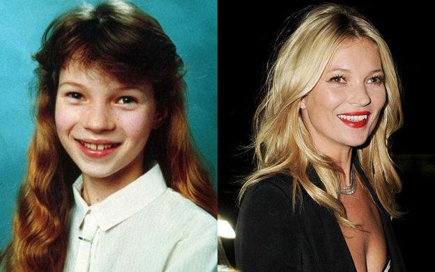 Kate Moss na infância