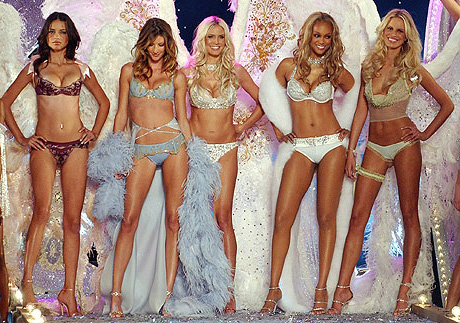 As famosas modelos Angels da Victoria Secrets.