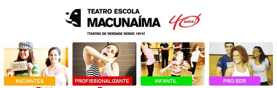 escola de atuação macunaíma