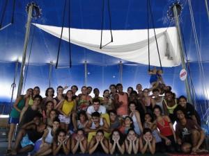 Profac leva formação circense a jovens de 14 a 24 anos